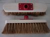 coco fiber wooden cleaning floor brush