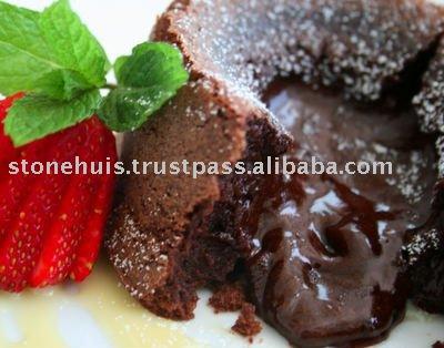 Chocolate molten bolo / Chocolate fondant / lava bolo