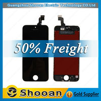 wholesale foxconn for iphone5c mobile phone lcd,for iphone 5c lcd digital display