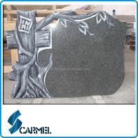 Cemetary Granite Tree Carving Headstone/Headstone/Tree Carving Headstone