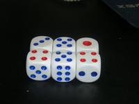 Plastic dice&Game dice&dice