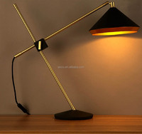 Decorative Industrial Vintage Antique LED Table Lamp Study Modern Table Lamp