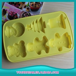 Eco-friendly silicone durable cupcake pans