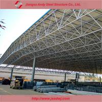 Prefab galvanized steel truss roof