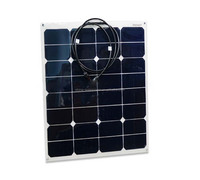 Low price per watt hallproof polycrystalline flexible solar panel for solar streent lights