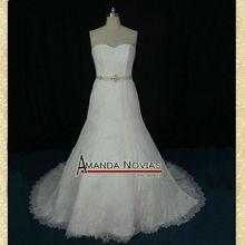 Calidad OEM Brisal Real Fábrica del vestido para boda del cordón de gama alta R422