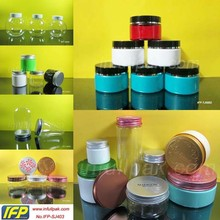 Clear Plastic PET Candy Jar with Black Lid 30g, 50g, 60g, 80g, 100g, 150g, 200g, 250g-1000g