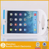High quality silicone stand case for ipad mini,3D design silicone back cover
