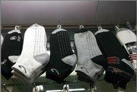 Customised men ankle sock for sale