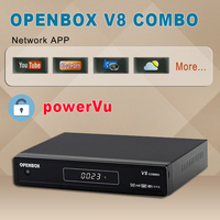 Competitive Digital Tv Receiver Openboz V8 combo DVB-s2 Smart Set Top Tv Box DVB T2 support free sexy porn video channels