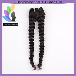 Unprocessed High Quality Wholesale Myanmar Virgin Human Hair