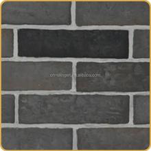 Artificial exterior and interior decorative brick veneer