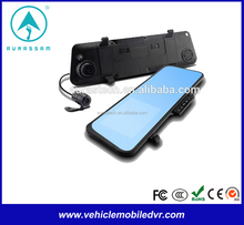 rearview mirror car gps with dvr car backup camera for toyota corolla
