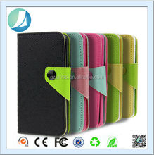 2014 New Arrival Colorful Leather Phone Case For Huawei Y511 With Buttons
