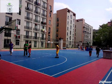 pp hot sale basketball court flooring