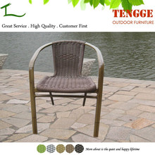 TG15-0161 Piato bamboo look rattan chairs outdoor leisure chair