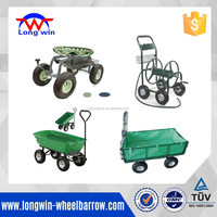 high quality outdoor heavy duty decorative garden cart