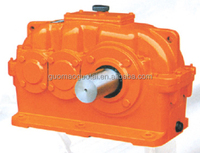 China made Guomao high power Cylindrical electric motors gear drive