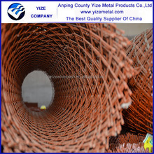Anping factory cheap PVC coated Expanded Mesh,low carbon expanded sheet,decorative expanded metal in Alibaba China