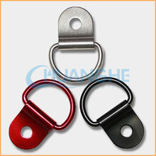2015 china Factory Hot Selling best Quality low pice shiny silver plates bulk custom d rings
