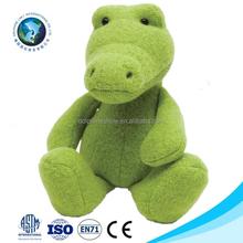 Custom new green dragon plush toy fashion cute plush toys dragon city