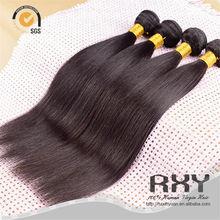 armadura del pelo remy indio mojado y ondulado, extensiones de pelo indio por mayor