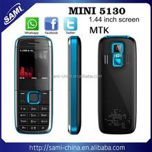 SAMI 2015 Mini 5130 MIni mobile phone dual sim dual standby quad band mini cheap phone with whatsapp