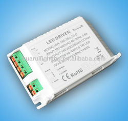 Triac Dimmable 70W high power led driver constant current and constant voltage 12/24V for indoor led lighting