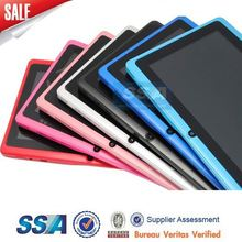 All winner CPU 800*480 Dual core Android 5.0 A23 Q88 7inch android tablet pc