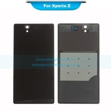 battery door replacement for Sony Xperia Z back cover housing black