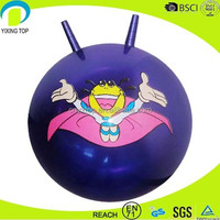 high quality bounce balls with handles in low price
