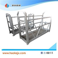 Glass hoist machine gondola cleaning lift platform cradle/gondola