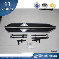 Side Step bars car auto exterior accessories running board For Subaru XV From Pouvenda