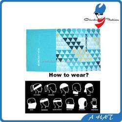 fashion print neck tube bandana