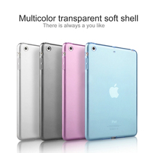 HAWEEL Slim Transparent TPU Protective Case for iPad mini 1 / 2 / 3(Transparent)