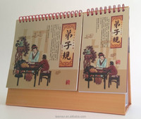 2014 New Designed Table Calendar with Notepad
