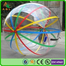 2m water walking ball inflatable water ball walking water ball with strips popular sale