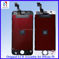For iPhone 5S LCD With Touch Screen Assembly, original lcd with digitizer