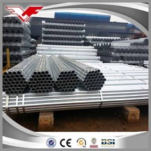 green house pre galvanized pipe Manufacturing for scaffolding system