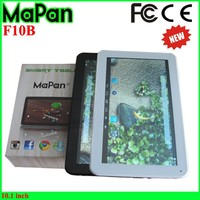 16G ROM Quad Core 1.4GHZ tablet 10.1 inch 1024 x 600 pixel touch screen camera wifi tablet electronics