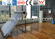 Solar Keymark & WaterMark pressurized vacuum tube solar water heater
