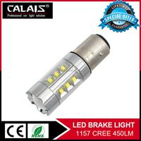 High Power 100w 1156 1157 tail lamp LED brake light pressure switch for car
