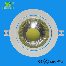 natural white cob led downlight 90mm cut hole 2 years warranty