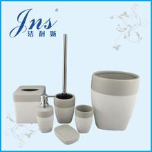 Stripe 6pcs accessory bathroom set