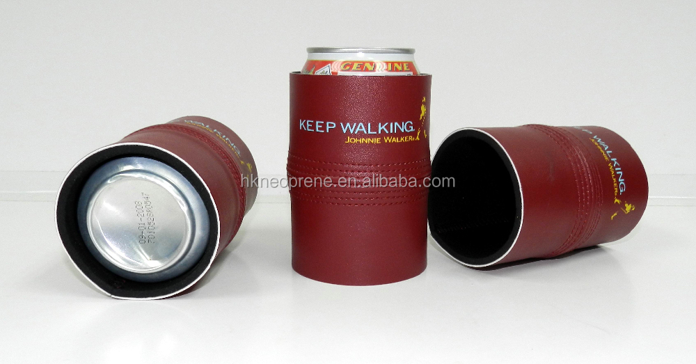 Neoprene Can Cooler For Fabric ~ Neoprene leather can cooler buy beer