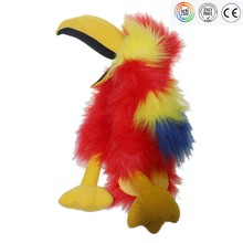 Colorful Parrot soft toy Plush bird toys soft toys for children