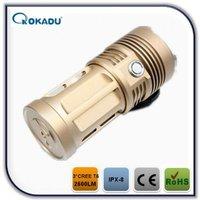 3* xml t6 cree 10000 lumen flashlight