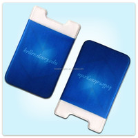 New style strong 3M sticker cell phone case card holder ,mobile phone card holder multiple wallet
