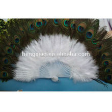 Good quality Child turkey feather fan Party supplies