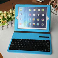 Bluetooth V2.0 Wireless Keyboard with Protective Case for Ipad Pro - Blue